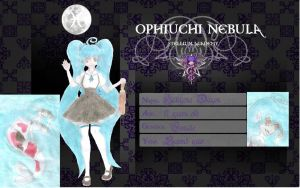 Ophiuchi Nebula app - Halcyone Dagon Pisces by YugureMuffin
