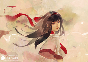 SS Tribute01 - Nakoruru by wickedalucard