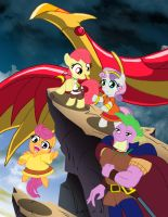 MLP:  The Mysterious Cities of Gold by ARNie00