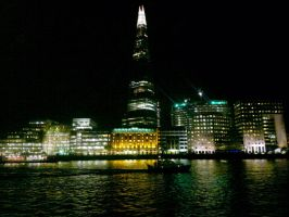 london city thames by LETSOC