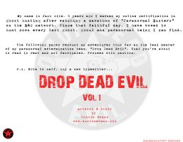 Drop Dead Evil RB page 1 by DustinEvans