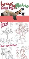 double dog ishh by royalboiler