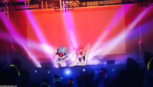 ATB feat. Vinyl Scratch by FoxInShadow