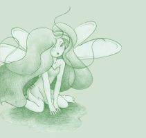 Absynth fairy by Vernella