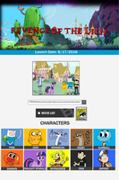 Revenge of The Lich Website by Broxome