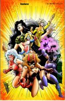 Femforce cover by DCON