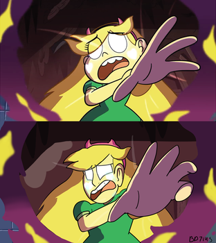 Star vs The Forces of Evil (screenshot redraw) by BD7145