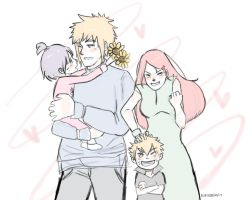 naruhina month day 12 - meet the grandparents by Jesslynnnj