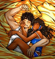 Borra - Sleeping. by kitsune999