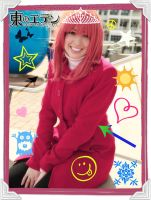 Eden of the East: Saki Morimi Purikura Fun by VandorWolf