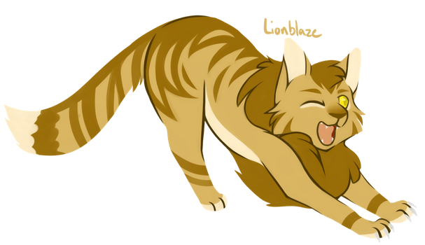[100 WARRIOR CATS CHALLENGE] #24 - Lionblaze by toboe5tails