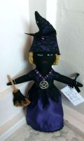 Lil' Violet Wiccan Doll by IdolRebel