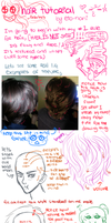 General hair tutorial and coloring by eto-nani