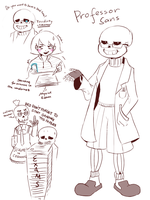 Professor Sans by Katrona
