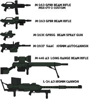 GPMS weapons by IgorKutuzov