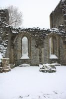 Valle Crucis In The Snow 015 by prolific-stock