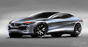 Bmw coupe concept by koleos33