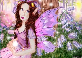 Bluebell Faerie by AnthonySpearsFae