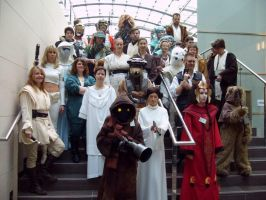 Rebels at jedi-Con, Dusseldorf 2008 by locomotiva