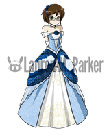 Fancy Ball Gown by Hero-of-Awesome