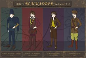 Fan Art : Blackadder by witegots