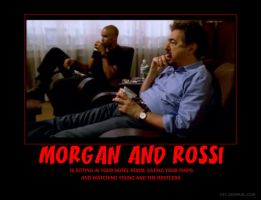 Morgan and Rossi Poster by HuntressxTimeLady