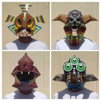 Boss Masks by Xaveric