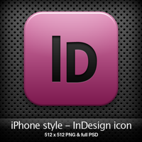 iPhone style - Id CS4 icon by YaroManzarek