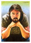 Dave Grohl by MikeRobinsArt