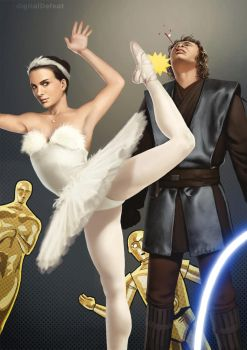 Padme Dumps Anakin by digitalDefeat