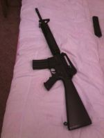 My M16A4 by DolphinFox
