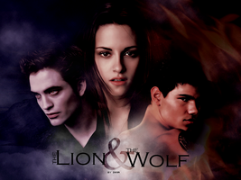 The Lion and the Wolf by inmany