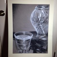 Charcoal drawing still life. by MacHammac
