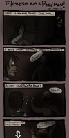 If Amnesia was Pokemon by issabissabel