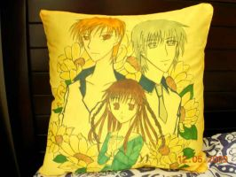 Fruit basket pillow SOLD OUT by jaysanzo