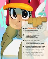 Melody and the New Patreon Guide by theCHAMBA