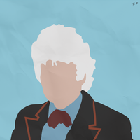 The 3rd Doctor (Simplistic) by Geoffery10