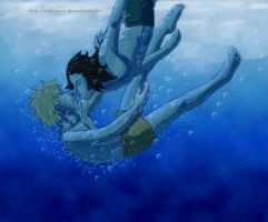 Take the plunge by Nooneym