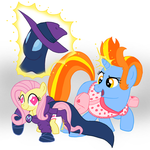 Showdown in the Mare Lair by Hourglass-Sands