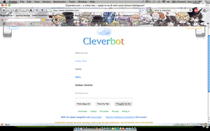 Cleverbot by ICEEWolf