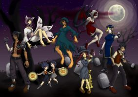 CR Late Halloween Night by silentclearlite