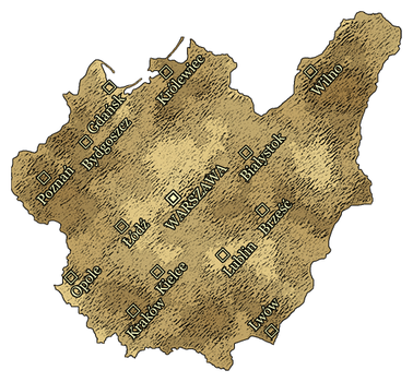 2nd Alternate Map of Poland by Magnificate