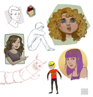 Sketchdump: 2013 by Anto90
