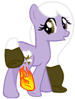 Isn't your leg and cutie mark on fire? by Leurx