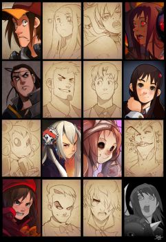 Old Faces. by Endling