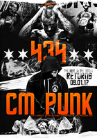 CM Punk RETURNS in 2017 - HardcoreArtist by HardcoreArtistGFX