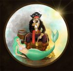 Pirate and Mermaid by Paulis1tp