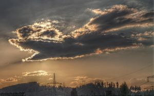 clouds by NobbyNic
