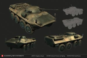 BTR-90 Russian APC Final by marq4porsche