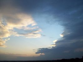 Thunderstorm Panorama by Texas-Guard-Chic